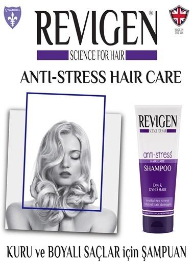 Revigen Anti-Stress Şampuan Kuru ve Boyalı Saçlar İçin 250 Ml Renksiz